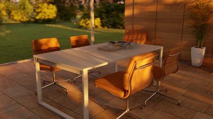 Nowoczesne stoły z ceramicznym blatem