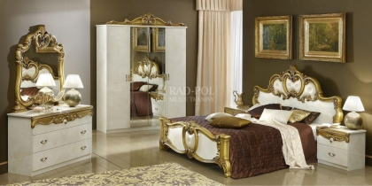 Sypialnia Barocco Ivory&Gold