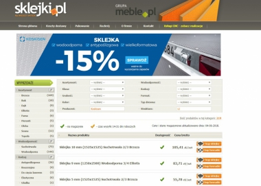 Sklejki.pl - Internetowy sklep ze sklejkami